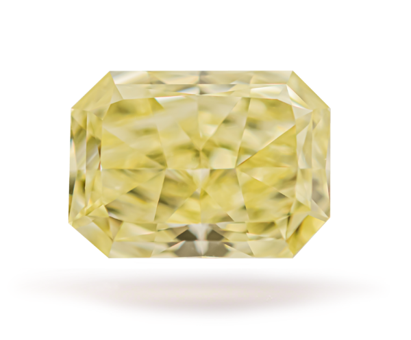 Fancy Yellow Diamond Radiant Cut